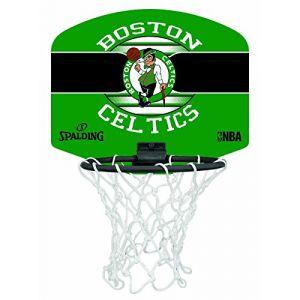 Uhlsport Spalding Nba Boston Celtics Panier + Ballon Mixte Enfant, Multicolore, NOSIZE