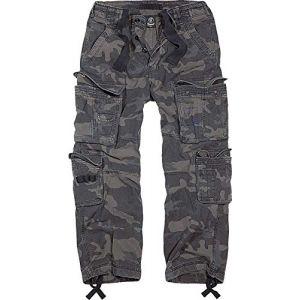 Brandit Pure Vintage Jeans/Pantalons Camouflage foncé L