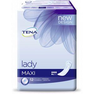 Tena Lady Maxi - 12 serviettes hygiéniques