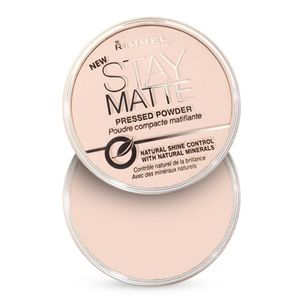 Rimmel Stay Matte Pink Blossom 002 - Poudre compacte matifiante