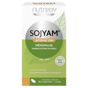 Nutreov Sojyam intensif 24h ménopause - 30 comprimés