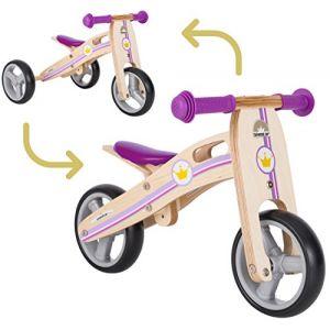 Bikestar Vélo Draisienne Enfants et Tricycle en bois