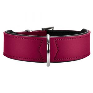 Hunter Collier en cuir - Chien (65) (Fuchsia) - UTVP392