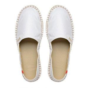 Havaianas 4137014 - Espadrilles - Mixte Adulte Multicolore Blanc (White) 35 EU