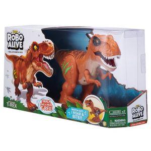 Zuru Robot Alive - T-Rex - Robot Dinosaure Orange