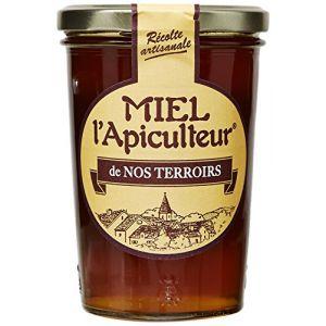 Lune de miel MIEL L'Apiculteur Miel de Nos Terroirs/Récolte Locale Pot Verre 500 g