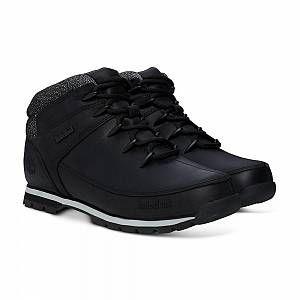 Timberland Euro Sprint Hiker, Bottes Chukka Hommes, Noir (Black), 45 EU
