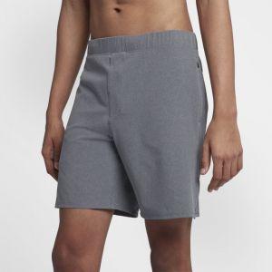 Nike Short Hurley Alpha Trainer Plus 45,5 cm pour Homme - Gris - Taille XL