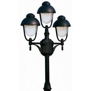 Albert Leuchten Lampadaire 698 noir à 3 lampes