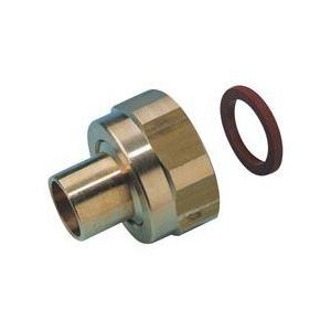 Clesse PP04526 - Raccord P45-41 2 pièces à écrou tournant à braser sur tube cuivre D10 pour butane propane sous coque