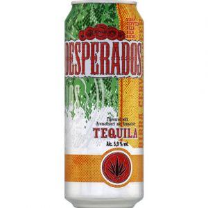 Desperados Bière aromatisée tequila, 5,9% vol. - La canette de 50cl
