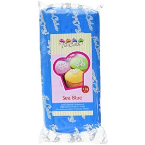 FunCakes Pâte à sucre - bleu foncé - 1kg
