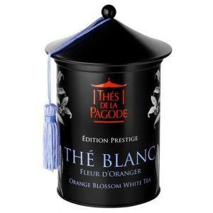 Thés de la pagode The Blanc à la Fleur D'oranger Bio Edition Prestige - 100 gr
