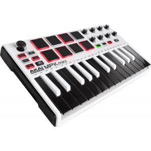 Akai MPK Mini MK2 White clavier USB/MIDI
