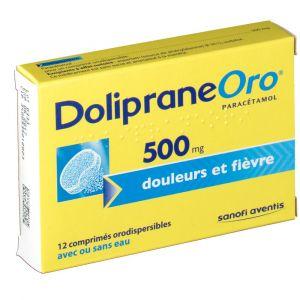 Sanofi Doliprane Oro 500 mg - 12 comprimés