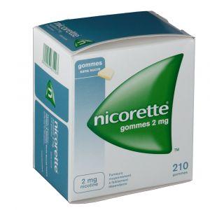 Johnson & Johnson Nicorette s/s 2 mg - 30 Gommes à mâcher