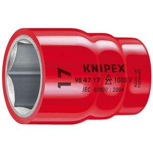 """Image de Knipex Douilles à six pans avec carré femelle 1/2"""" - 98 47 11"""