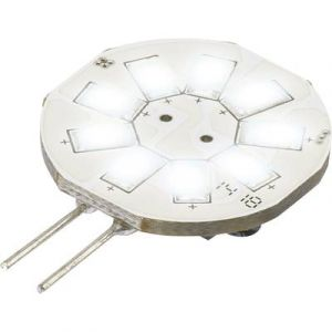 Renkforce Ampoule LED G4 9283c75b à broches 1.5 W = 10 W blanc froid (Ø x L) 23 mm x 35 mm EEC: A 1 pc(s)