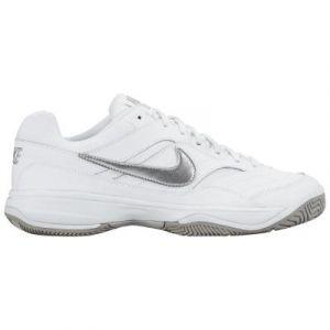 Nike Chaussure de tennis pour surface dure Court Lite pour Femme - Blanc - Taille 40 - Femme