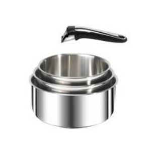 Tefal L9259502 - 3 casseroles Ingenio en inox avec 1 poignée