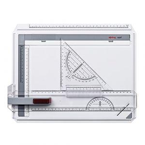 Rotring S0232710 - Planche à dessin Rapid, format A4, en plastique anti-choc