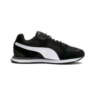 Puma Vista Jr, Sneakers Basses Mixte Enfant, Noir Black White, 37 EU