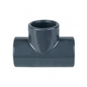 Cap Vert TE9063 - Té à 90° égal Diamètre 63 mm