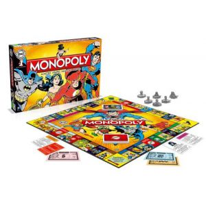 Winning Moves Monopoly DC Comics
