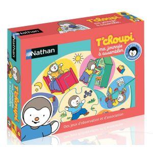 Nathan Ma journée à assembler T'Choupi