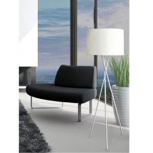 Lampadaire MIKADO Blanc à Trépied, hauteur 160cm - Lampadaire MIKADO Blanc à Trépied en métal et abat jour tissu, Diamètre 45 X 160 Hauteur cm- Forme : Rectangulaire - Coloris : blanc - Type d'alimentation : Electrique - Garantie : 1 an. Ampoule requise :
