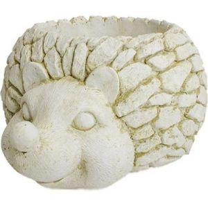 Deco granit Cache pot en pierre reconstituée souris
