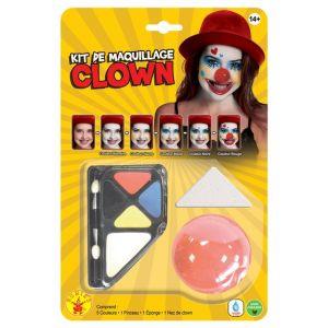 Rubie's Kit de maquillage Clown avec nez