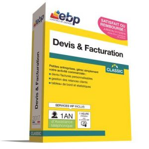 Devis & Facturation Classic 2017 + VIP + offre Satisfait ou remboursé [Windows]