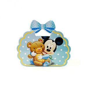 Boîte à dragées en carton Mickey