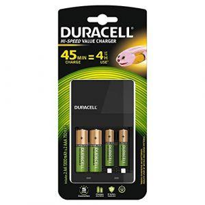 Duracell CEF14 batterielader Incl. 2xAA 1300mAh 2xAAA 750mAh 118577