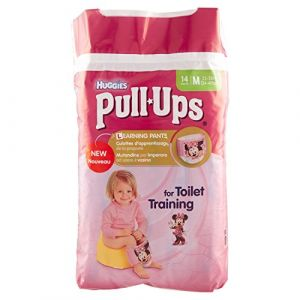 Huggies Pull-Ups taille 5 (11-18 kg) - 14 couches culottes - Fille