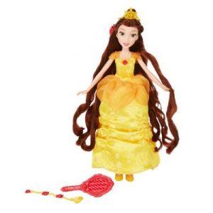 Hasbro Poupée Disney Princesses : Belle chevelure de rêve