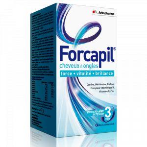 Arkopharma Forcapil - Cheveux et ongles, 180 gélules
