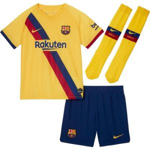 Nike Kit Stade Extérieur de Barcelone 2019-20 - Petits Enfants - Taille XS