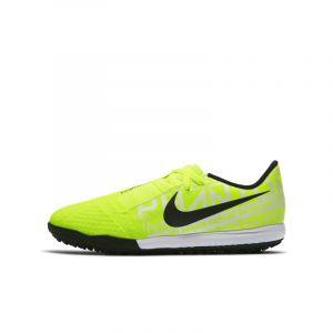 Nike Chaussure de football pour surface synthétique Jr. Phantom Venom Academy TF pour Jeune enfant/Enfant plus âgé - Jaune - Taille 28 - Unisex