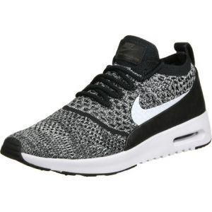 Nike Air Max Thea Ultra Flyknit, Baskets Femme, Noir (Black/White), 37.5 EU