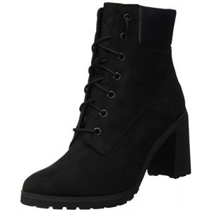Timberland Allington 6in Lace Up velours Femme-36-Black