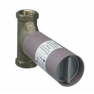 Hansgrohe 15970180 - Corps d'encastrement pour robinet d'arret 20x27 à clapet débit 130L/min