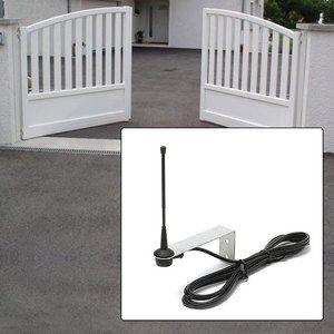Ematronic Antenne pour motorisation portail universelle 433 MHz avec câble de 3 m - ANT433C3