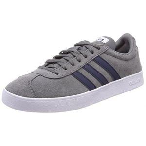 Adidas VL Court 2.0, Chaussures de Fitness Homme, Gris (Gricua/Maruni/Ftwbla 000), 43 1/3 EU