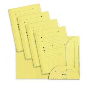 Elba 100090073 - Sous-dossier OAZ chemise HV 2 rabats, lot de 25, A4 kraft jaune pâle