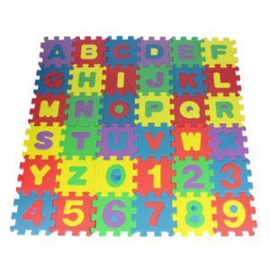 MagiDeal Tapis De Sol en EVA Avec Numéros De Puzzle Pour Enfants (total 36 pièces)