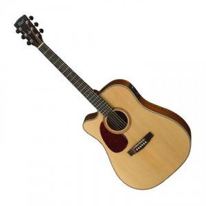 Cort MR710F Guitare acoustique Gaucher Naturel Satine
