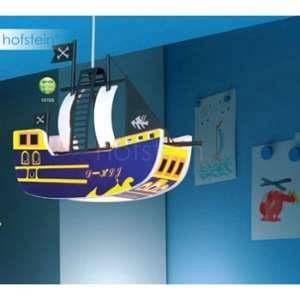 Globo Suspension bateau pirate