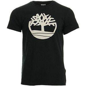 Timberland T-shirts Kennebec River Brand Regular - Black Tree - M